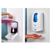 DC 6V Commercial Wall Mounted Soap Dispenser Plastic Hand Washing Dispenser