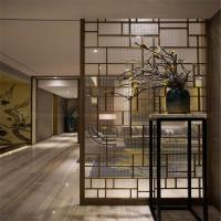 China Decorative Metal Screen interior partition wall panel designs customized metal furniture on sale