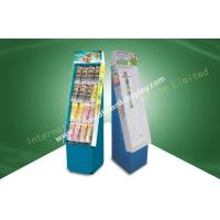 Wholesale Advertising Cardboard Point Of Sale Display Stand Environment Friendly With UV Coating from china suppliers