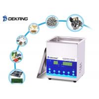 China 2.0L 28 / 40KHz Ultrasonic Cleaning Machine Die Casting Stainless Steel For Syringe Needle on sale