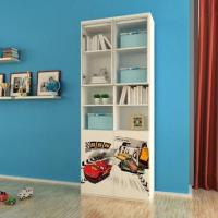 Wholesale E0 Grade Kids' Furniture/Children Furniture, 2-Door Book Cabinet with Printing Cartoon Pictures from china suppliers