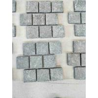 China Black Granite G684 Mesh Paving Stone For Outdoor Chinese Granite Paving on sale