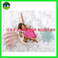 Wholesale artificial statue daily commodity 3D model life size statue in garden/ plaza/ shopping mall/photographer from china suppliers
