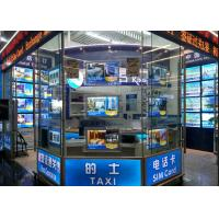China Single Sided Advertising Crystal Led Light Box DisplayMagnetic With Acrylic Frame on sale