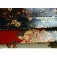 China 12OZ Transparent PVC Coated Cotton Canvas / Printed With PVC Fabric For Bags on sale