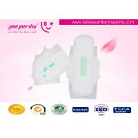 Wholesale Super Absorbent Anion Feminine Pads , Anion Maxi Pads 290mm Length from china suppliers
