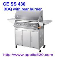 China 6Burner Stainless Barbecue on sale