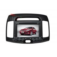 China 7 Inch Hyundai Navigation System For ELANTRA 08-09 Built In Car GPS BT on sale