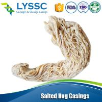 China 2015 Good Warranty Natural Salted Hog Casings Goat Casings with Good quality 34/36 on sale