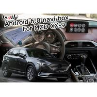 Wholesale Android 6.0 navigation video interface box for Mazda CX-9 12V DC power supply from china suppliers