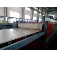 Wholesale WPC Foam Board Extrusion Line Plastic Extrusion Lines For PP / PE / PVC from china suppliers