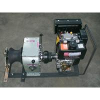 Buy cheap High Speed 3 Ton Diesel Engine Winch / Hoist Capstan Rope Winch from Wholesalers