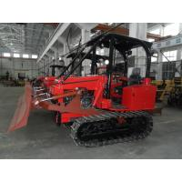Wholesale Mini track tractor w/ Canopy with six-action blade Crawler Bulldozer optional with EPA diesel engine 35HP Farm Machine from china suppliers