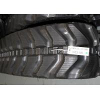 Wholesale Kubota and komatsu mini excavator rubber track with size 300x52,5x80 for K028 / PC27MR from china suppliers