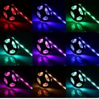 Wholesale 4.5V AA battery powered 5050 RGB LED strip light 5V USB Powered RGB LED Strip from china suppliers