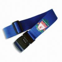 Wholesale Luggage Strap/Belt, OEM Order are Welcome, Various Kinds are Available from china suppliers
