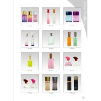 China 50 ML Frosting Decorative Glass Bottles With Surlyn Caps And Perfume Pump on sale