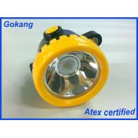 Wholesale ATEX certification miners cap lamp, cordless led mining headlamp and miners lamp for sale from china suppliers
