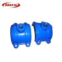 China ductile iron saddle clamp for steel pipe on sale