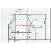 Buy cheap 30''ASME B16.47A A105 600# ANCHOR flange wn RF from wholesalers