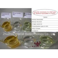 99% Purity Steroid Solvent Oil Benzyl Alcohol CAS 100-51-6 Steroid Chemical Addictives