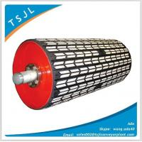 Wholesale Bulk material handling Rubber ceramic pulley from china suppliers