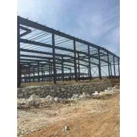 Multi - Functional Heavy Frame Steel Structure Factory Hot Dip Galvanized Treatment