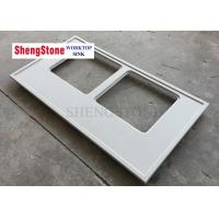 China Double Hole Marine Edge Countertop For Medical Institutions , SGS Certificate on sale