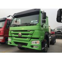 Buy cheap Dropside Cargo Truck Chassis SINOTRUK HOWO ZZ1257N4341W Green Lorry Vehicle from Wholesalers