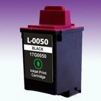 Wholesale Black Printer Cartridge 17G0050, Suitable for Lemark inkjet Printers from china suppliers