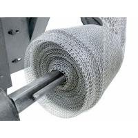 China Exhaust Systems Stainless Steel Knitted Wire Mesh Liquid Gas Filter 0.08-0.55mm Wire on sale