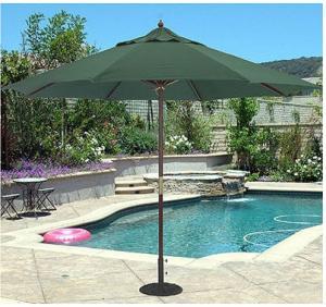 China Garden Yard Beach Patio Market Umbrella / Outdoor Stand Table Umbrella on sale