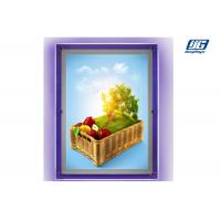 China Multipe Color Thin Acrylic BoxSingle Sided Displaying A2 Poster Size 2000 Lux on sale