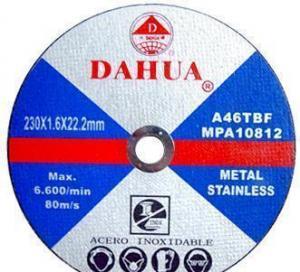China Metal Cutting Wheel on sale