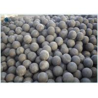 Wholesale High Impact Toughness Grinding Media Steel Balls for cements , mines , coal from china suppliers