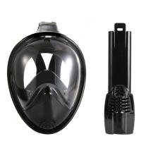 Buy cheap Black Vision / Round Full View Easy Snorkel Mask Eco Friendly Liquid Silicone Material from wholesalers