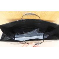 Wholesale Reusable Hard Plastic Handle Bag With Reinforced Paper Card from china suppliers