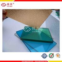 China clear polycarbonate sheeting suppliers on sale