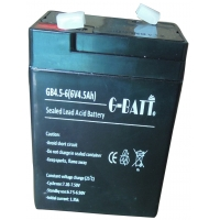 Wholesale UPS Rechargeable 6V 4.5AH Lead Acid Storage Battery from china suppliers
