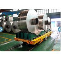 Wholesale 16 ton Industrial Steel Coil Rail Transfer Trolley for coils transport from china suppliers