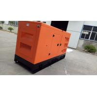 Wholesale Orange - Colored Super Quiet Diesel Generators Over Speed Protection 128KW / 160KVA from china suppliers