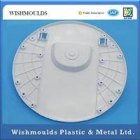 White Plastic Prototype Parts Injection Molding Service - Electric Table Fan Base