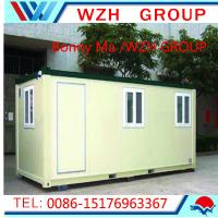 Wholesale Low Cost Prefabricated Security Guard House/Cabin Portable Houses from china suppliers