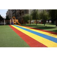 Non Slip Outdoor Playground Rubber Mats With Colored