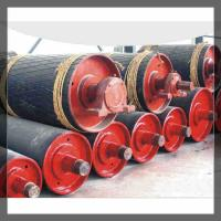 Wholesale Belt Conveyor Wing Pulleys/bend pulley used in coal factory from china suppliers