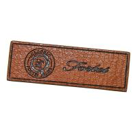 Wholesale Personalized Logo Embossed Custom Leather Patches biodegradable from china suppliers