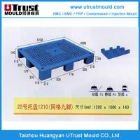 Wholesale Single surface single faced type plastic injection pallet mould from china suppliers