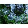 Buy cheap Santa Solar LED String Lights , 4.8M White / Multicolor Xmas Tree Lights from wholesalers