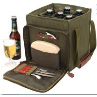Wholesale canvas beer bottle cooler bag,wine bottle bag from china suppliers