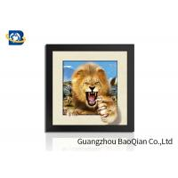 Animal 3D 5D Photography , Lenticular Image Printing Home / Bedroom Wall Art Decor